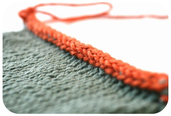 I-Cord Bind Off Tangled Yarns